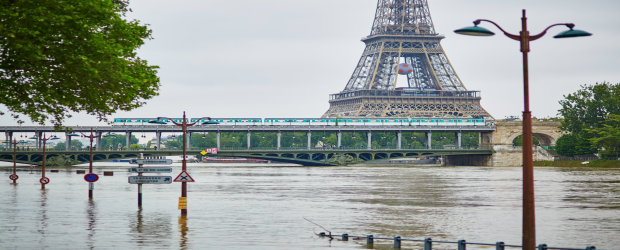 Is climate change causing Paris' floods